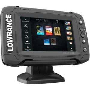 Картплоттер Lowrance Elite-5Ti Mid/High/DownScan (000-12421-001)