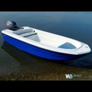 Лодка Wyatboat 430 (тримаран)